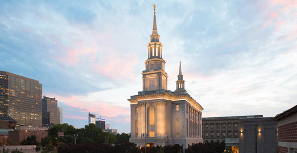 Historic Philadelphia Temple Dedicated