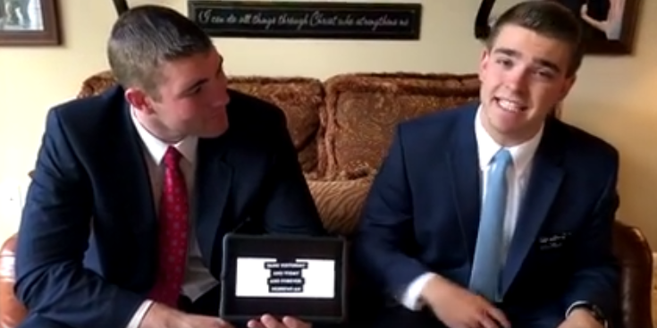 Missionary Rap Video of the First Discussion Goes Viral
