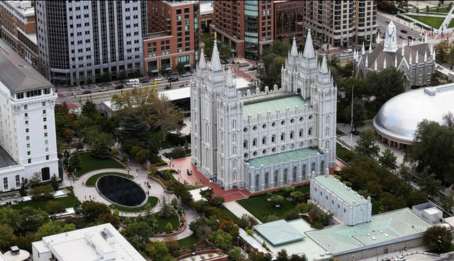 New Salt Lake Temple grounds: Watch the virtual walk-through videos