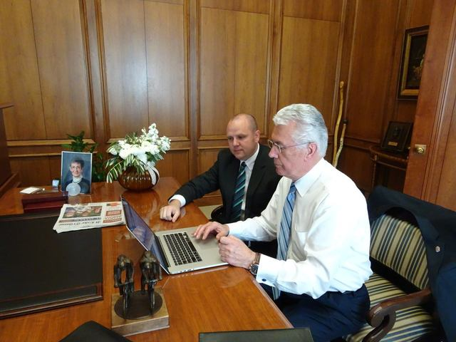 President Uchtdorf Does Read Your Comments on Facebook and Twitter