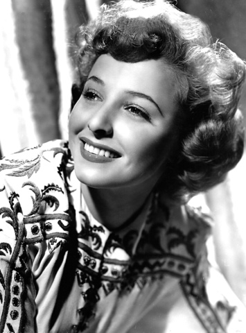 Publicity photo of Laraine Day from MGM Studios