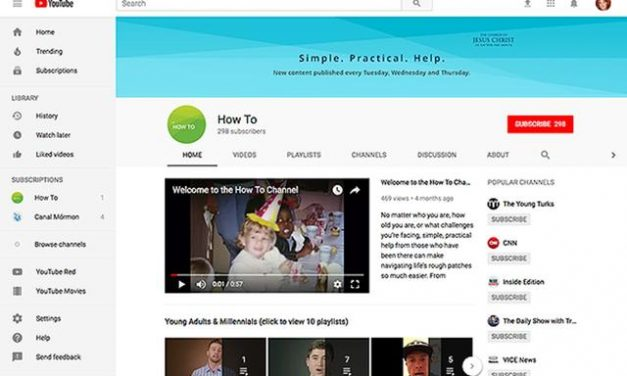 Church launches 'How To' YouTube channel for help on a variety of topics