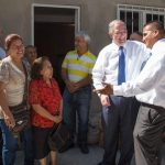 Elder Andersen Visits Mexican Earthquake Survivors