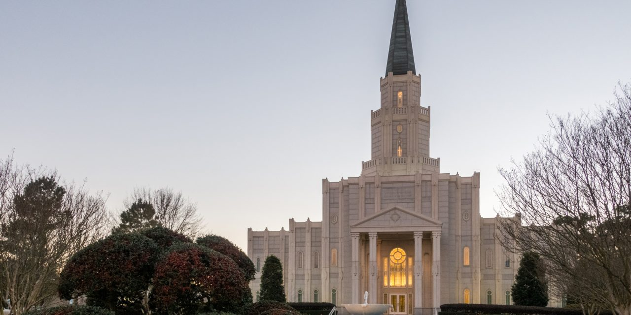 Houston Texas Temple Rededication Date Announced
