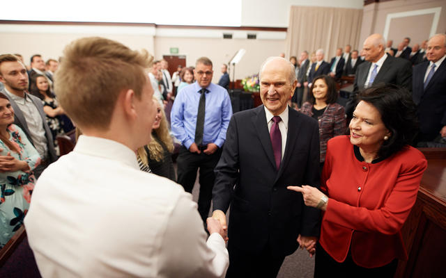 President and Sister Nelson to speak at LDS worldwide devotional for youth