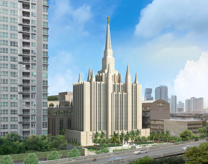 Artistic Rendering of Bangkok Thailand Temple Released