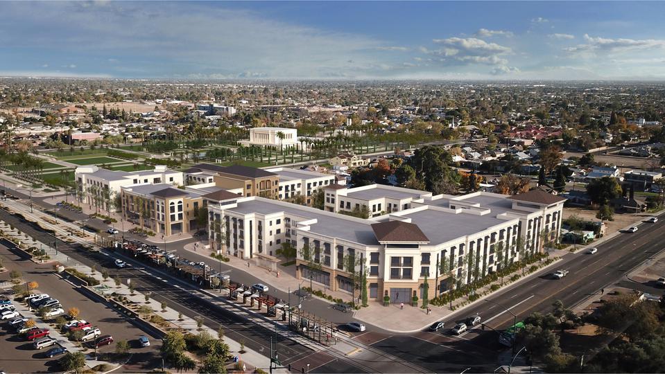 Redevelopment Plans Announced for Area Near Mesa Arizona Temple
