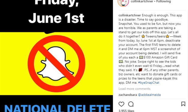 WHY SO MANY LDS INFLUENCERS AND YOUTH ARE DELETING SNAPCHAT ON JUNE 1ST