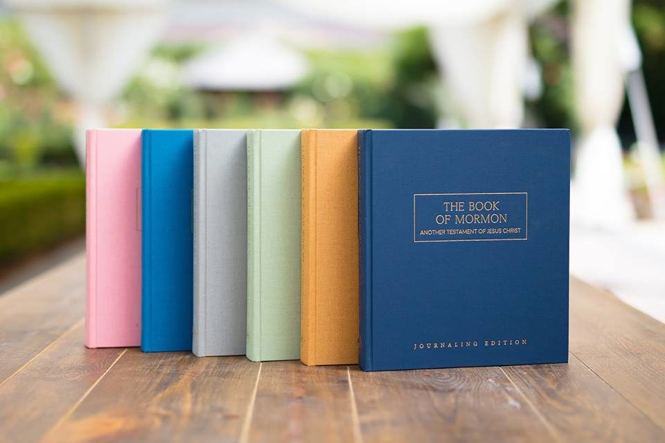 Journaling Edition of The Book of Mormon Now Avaliable