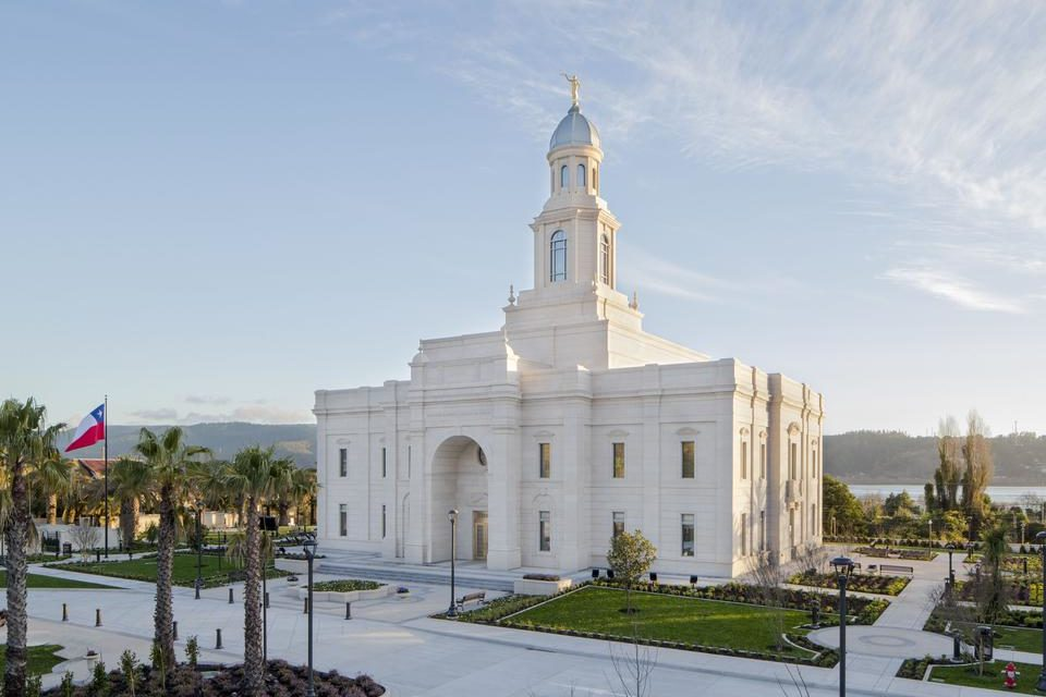Open House Begins for the Concepción Chile Temple