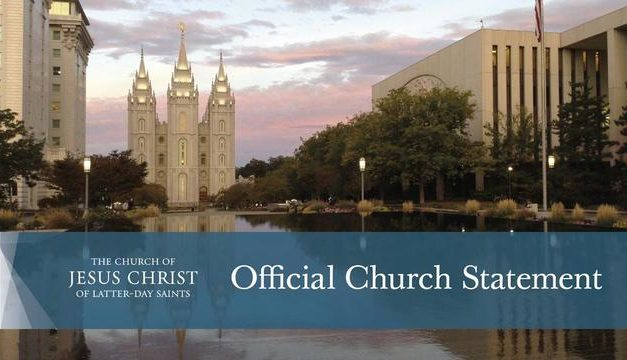 Church Statement on Local Celebrations, Including Pageants