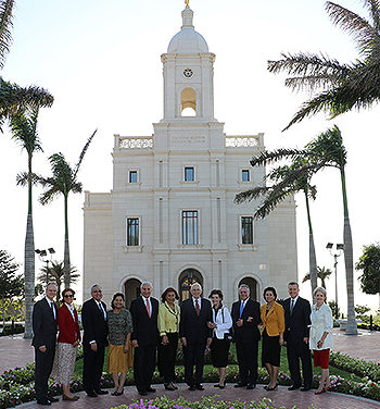 Colombia's Second Temple Dedicated in Barranquilla