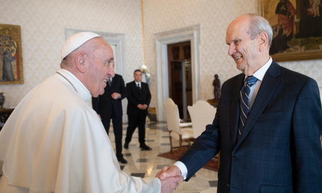 Historic meeting between President Nelson, Pope Francis takes place at the Vatican