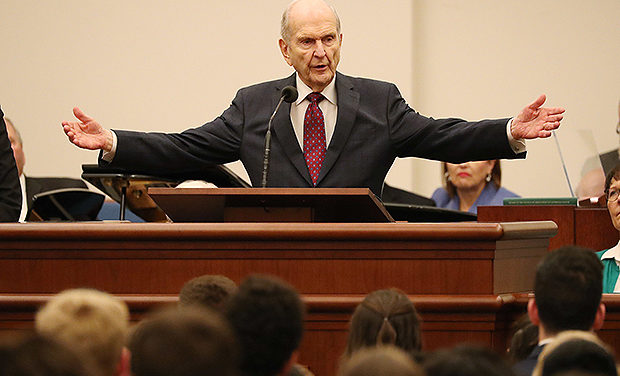 During Rome Italy Temple Youth Devotional, President Nelson Shares 5 Things to Know, 5 Things to Do