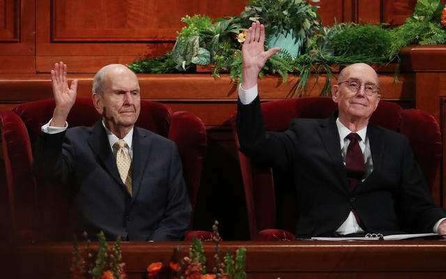 Remember the spiritual purposes behind exciting changes in the church, Latter-day Saint leaders say Saturday afternoon