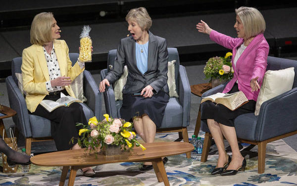 Church News: Women leaders answer questions about belonging, doubt and inadequacy in first-ever Sister-to-Sister event