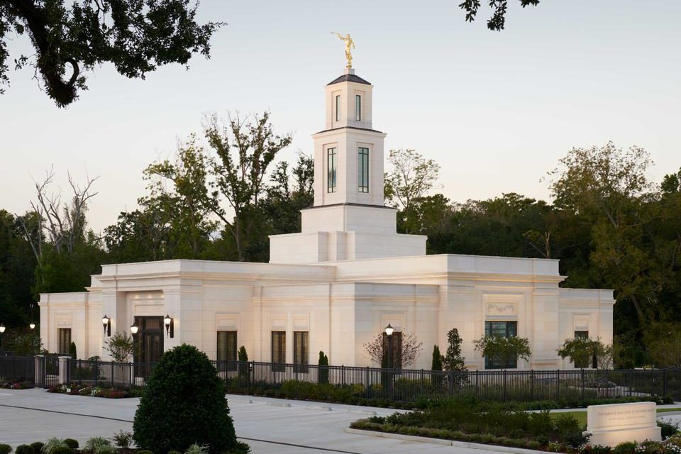 Baton Rouge Louisiana Temple Opens Doors to the Public