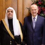 First Presidency Welcomes Leader of Muslim World League