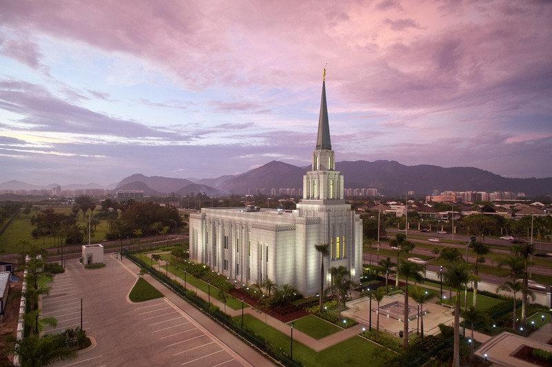 April Open House Announced for Rio de Janeiro Brazil Temple