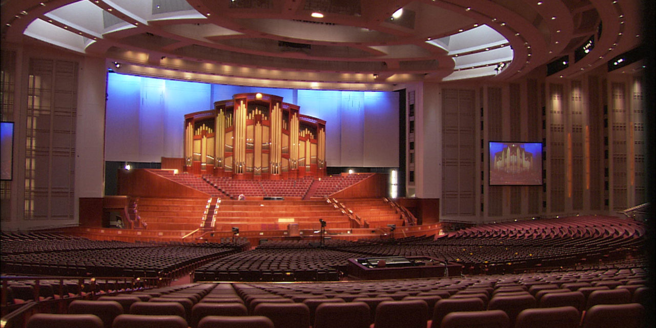 Only First Presidency, speakers will attend general conference; venue has been  changed