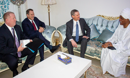 Elder Bednar Makes Historic First Visit to Sudan, Meets with Religious and Government leaders