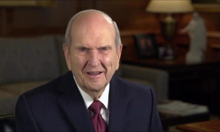 President Nelson shares message of hope and optimism