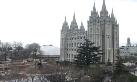 Condition of Salt Lake Temple After Utah Earthquake