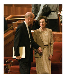 President Eyring and his wife