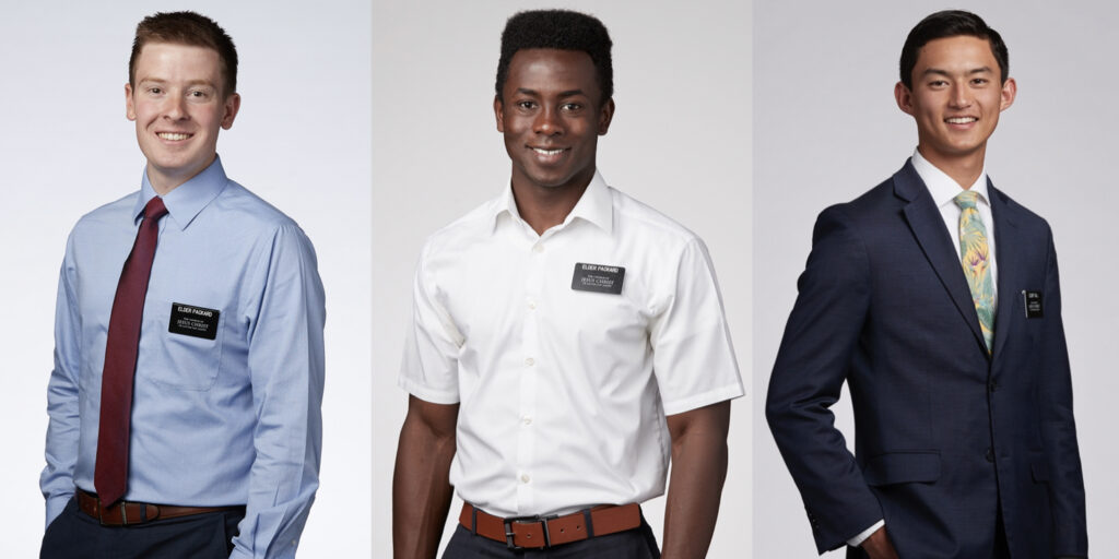 First Presidency approves missionary attire exceptions, including blue shirts, no ties
