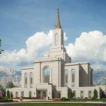 Orem Utah Temple groundbreaking date, rendering released