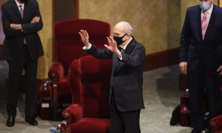 President Nelson closes October general conference with invitation to embrace 'a new normal' by turning to Christ