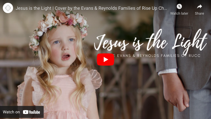 """Jesus is the Light"" cover song by Latter-day Saint families"